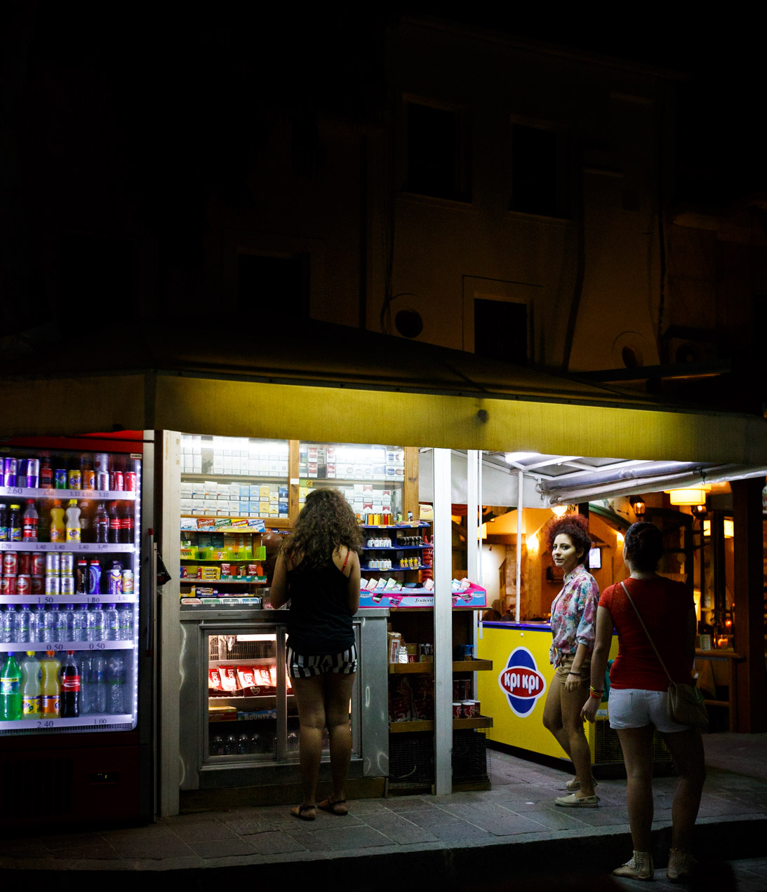 Night-time Kiosk Stop